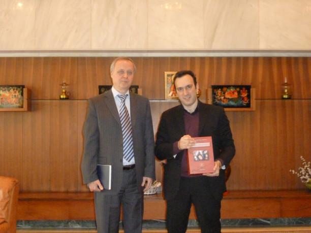 Επίσκεψη στη Ρωσική Πρεσβεία
