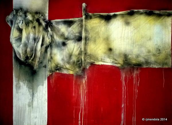 ADANA  mixed media on canvas 6'x8'
