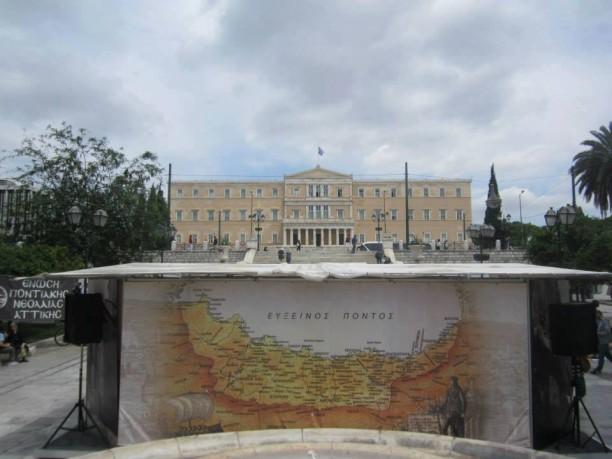 16-19 Μαΐου 2015:Εκθεσιακά περίπτερα πλατεία Συντάγματος