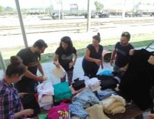 Η Ένωση Ποντιακής Νεολαίας Αττικής κοντά στους πρόσφυγες