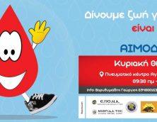 16η αιμοδοσία Ένωσης Ποντιακής Νεολαίας Αττικής