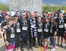 """Συμμετοχή στον 14ο Διεθνή Μαραθώνιο """"Μέγας Αλέξανδρος"""" με την #100RunningTeam"""