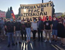 Παναρμενική Συγκέντρωση Διαμαρτυρίας (30/09/2020) ενάντια στην επιθετικότητα Αζέρων & Τούρκων στο Αρτσάχ