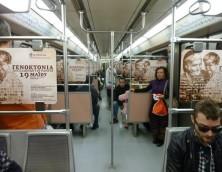 16 – 19 Μαΐου 2011: Εκθεσιακά Περίπτερα στην Πλατεία Συντάγματος & Καμπάνια στο Μετρό
