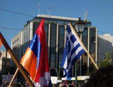 Συγκέντρωση και πορεία διαμαρτυρίας προς την τουρκική πρεσβεία για την αναγνώριση της ανεξαρτησίας του Αρτσάχ – 14/10/2020